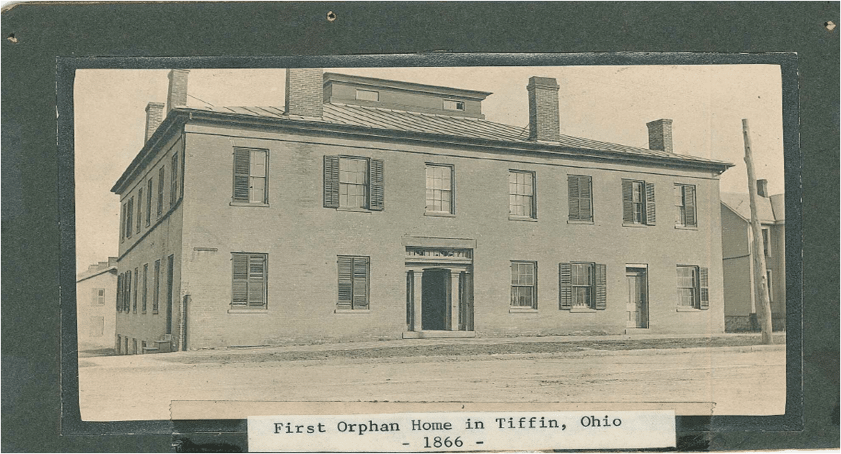 Original Orphan Home in Tiffin, Ohio